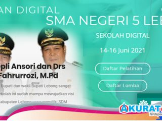 Bakal Dilaunching Bupati Kopli Ansori, Aplikasi SIP-MAS Dalam Pekan Digital SMAN 5 Lebong