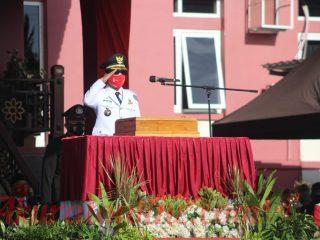 Kopli Ansori Pimpin Upacara HUT RI ke-76