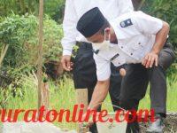 Tunjang Prasarana Pertanian, Pemdes Sukau Rajo Bangun JUT